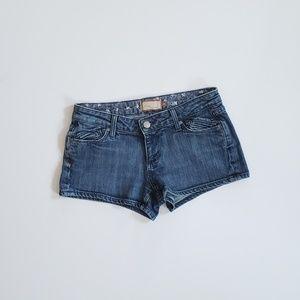 Paige denim shorts size 25